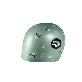 arena Poolish Moulded Gorra, rocket silver